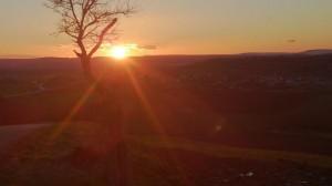 coucher de soleil février 2014